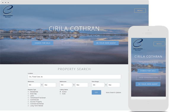 Responsive Website for Cirila Cotran